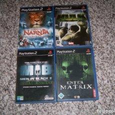Videojuegos y Consolas: 4 JUEGOS DE LA PLAY2. Lote 183903852