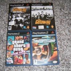 Videojuegos y Consolas: 4 JUEGOS DE LA PLAY2. Lote 183903998