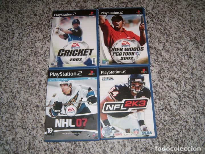 4 JUEGOS DE LA PLAY2 (Juguetes - Videojuegos y Consolas - Sony - PS2)