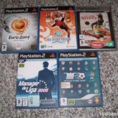 Videojuegos y Consolas: 5 JUEGOS DE LA PLAY2. Lote 183904651