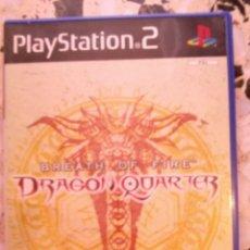 Videojuegos y Consolas: DRAGON QUARTER PLAYSTATION 2. Lote 184048628
