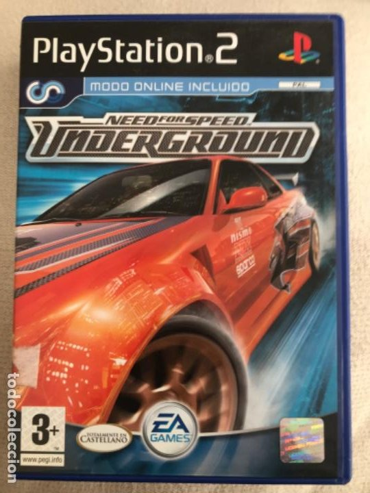 Need For Speed Underground Juego Ps2 Pal Comple Sold At Auction
