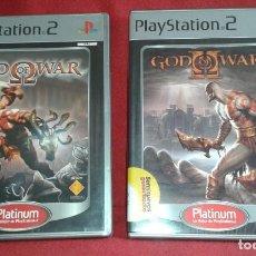 Videojuegos y Consolas: LOTE GOD OF WAR I Y II PS2, PAL ESPAÑOL. Lote 184296003