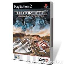 Videojuegos y Consolas: LOTE JUEGO DE PLAY STATION 2 - PS2 - MOTORSIEGE WARRIORS OF PRIME TIME - CAJA ORIGINAL Y MANUAL. Lote 185117620
