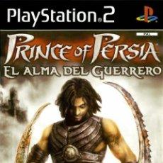 Videojuegos y Consolas: LOTE JUEGO DE PLAY STATION 2 - PS2 - PRINCE OF PERSIA EL ALMA DEL GUERRO - NUEVO PRECINTADO. Lote 185135315