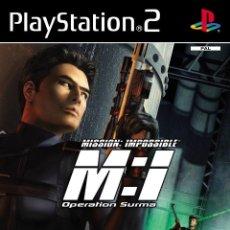 Videojuegos y Consolas: LOTE JUEGO DE PLAY STATION 2 - PS2 - MISSION IMPOSSIBLE OPERATION SURMA - CON CAJA ORIGINAL Y MANUAL. Lote 185167277