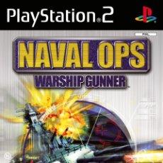 Videojuegos y Consolas: LOTE JUEGO DE PLAY STATION 2 - PS2 - NAVAL OPS WARSHIP GUNNER - CON CAJA ORIGINAL Y MANUAL. Lote 185176878