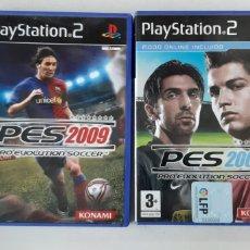 Videojogos e Consolas: 2 JUEGOS DE PLAY2. PES 2008 Y PES 2009.. Lote 185788131