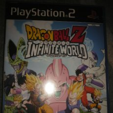 Videojuegos y Consolas: DRAGON BALL Z INFINITE WORLD PS2. Lote 186161411