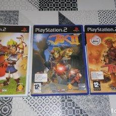 Videojuegos y Consolas: JAK AND DAXTER 1 2 3 PS2 PAL ESPAÑA. Lote 186207131