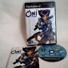 Videojuegos y Consolas: ONI JUEGO COMPLETO CON INSTRUCCIONES PARA PLAYSTATION 2 PLAY STATION PS2 PSX. Lote 186430516