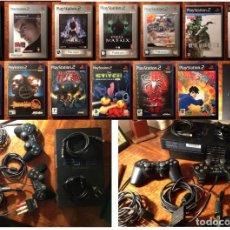 Videojuegos y Consolas: LOTE PLAYSTATION 2 Y 13 JUEGOS PS2. Lote 187154988