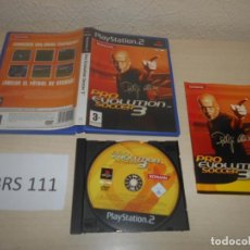 Videojuegos y Consolas: PS2 - PRO EVOLUTION SOCCER 3 , PAL ESPAÑOL , COMPLETO. Lote 187503880