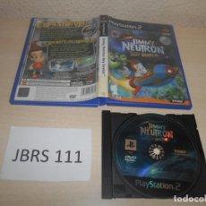 Videojuegos y Consolas: PS2 - JIMMY NEUTRON BOY GENIUS , PAL ESPAÑOL , SIN INSTRUCIONES. Lote 187503951