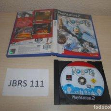 Videojuegos y Consolas: PS2 - ROBOTS , PAL ESPAÑOL , SIN INSTRUCIONES. Lote 187503991