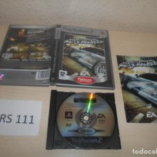 Videojuegos y Consolas: PS2 - NEED FOR SPEED MOST WANTED , PAL ESPAÑOL , COMPLETO. Lote 187504181