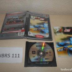 Videojuegos y Consolas: PS2 - FORMULA ONE 2006 , PAL ESPAÑOL , COMPLETO. Lote 187504308