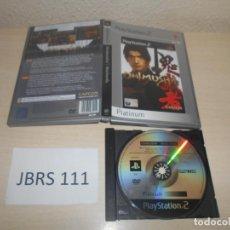 Videojuegos y Consolas: PS2 - ONIMUSHA WARLORDS , PAL ESPAÑOL , SIN INSTRUCIONES. Lote 187504433