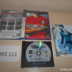 Videojuegos y Consolas: PS2 - PRO EVOLUTION SOCCER 2 , PAL ESPAÑOL , COMPLETO. Lote 187504516