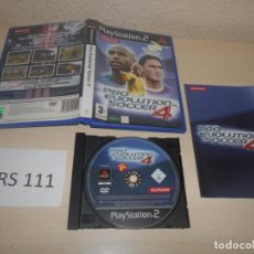 Videojuegos y Consolas: PS2 - PRO EVOLUTION SOCCER 4 , PAL ESPAÑOL , COMPLETO. Lote 187504568