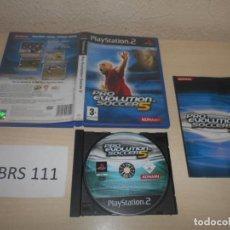 Videojuegos y Consolas: PS2 - PRO EVOLUTION SOCCER 5 , PAL ESPAÑOL , COMPLETO. Lote 187504608