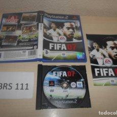 Videojuegos y Consolas: PS2 - FIFA 07 , PAL ESPAÑOL , COMPLETO. Lote 187504700