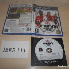 Videojuegos y Consolas: PS2 - FIFA FOOTBALL 2005 , PAL ESPAÑOL , SIN INSTRUCIONES. Lote 187504745