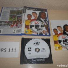 Videojuegos y Consolas: PS2 - FIFA FOOTBALL 2003 , PAL ESPAÑOL , COMPLETO. Lote 187504843