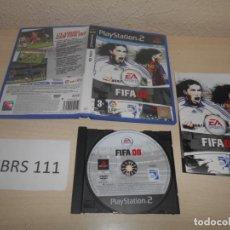 Videojuegos y Consolas: PS2 - FIFA 08 , PAL ESPAÑOL , COMPLETO. Lote 187504920
