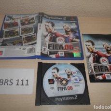 Videojuegos y Consolas: PS2 - FIFA 06 , PAL ESPAÑOL , COMPLETO. Lote 187504993