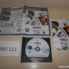 Videojuegos y Consolas: PS2 - FIFA 09 , PAL ESPAÑOL , COMPLETO. Lote 187505042