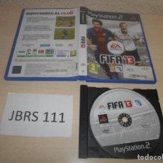 Videojuegos y Consolas: PS2 - FIFA 13 , PAL ESPAÑOL , SIN INSTRUCIONES . Lote 187505116