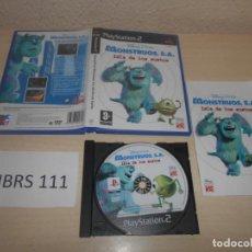 Videojuegos y Consolas: PS2 - MOUSTRUOS S.A LA ISLA DE LOS SUSTOS , PAL ESPAÑOL , COMPLETO. Lote 187505267