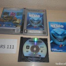 Videojuegos y Consolas: PS2 - BUSCANDO A NEMO , PAL ESPAÑOL , COMPLETO. Lote 187505421