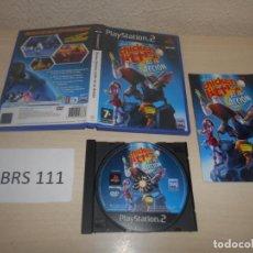 Videojuegos y Consolas: PS2 - CHICKEN LITTLE - AS EN ACCION , PAL ESPAÑOL , COMPLETO. Lote 187505496
