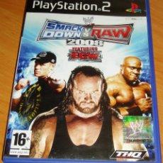 Videojuegos y Consolas: SMACKDOWN VS RAW 2008 SONY PLAYSTATION 2 PS2. Lote 188667752