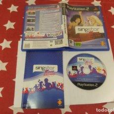 Videojuegos y Consolas: SINGSTAR ROCK BALLADS PS2 PLAYSTATION 2 COMPLETO PAL-ESPAÑA. Lote 189929453
