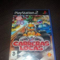 Videojuegos y Consolas: PLAYSTATION 2 CARRERAS LOCAS. Lote 190043695
