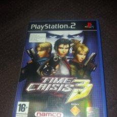 Videojuegos y Consolas: PLAYSTATION 2 TIME CRISIS 3. Lote 190044293