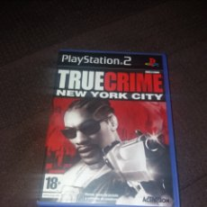 Videojuegos y Consolas: PLAYSTATION 2 TRUE CRIME NEW YORK CITY. Lote 190067651