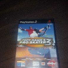 Videojuegos y Consolas: PLAYSTATION 2 TONY HAWK'S PRO SKATER 3. Lote 190068256