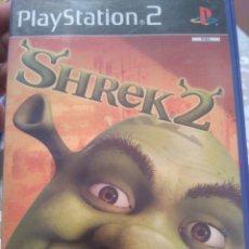 Jeux Vidéo et Consoles: PS2 SHREK 2 PLAYSTATION JUEGO COMPLETO. Lote 190142012