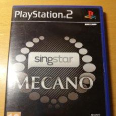 Videojuegos y Consolas: SINGSTAR. MECANO (PLAYSTATION 2). Lote 190484087