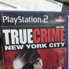 Videojuegos y Consolas: TRUE CRIME. NEW YORK CITY. PS2. Lote 190525063