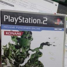 Videojuegos y Consolas: METAL GEAR SOLID 3. PS2. Lote 248637375