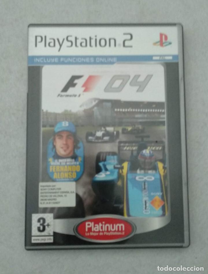 FORMULA ONE 04 - 2004 FERNANDO ALONSO RENAULT - PS2 - PLAYSTATION2 - VER FOTOS (Juguetes - Videojuegos y Consolas - Sony - PS2)