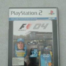 Videojuegos y Consolas: FORMULA ONE 04 - 2004 FERNANDO ALONSO RENAULT - PS2 - PLAYSTATION2 - VER FOTOS. Lote 190532761