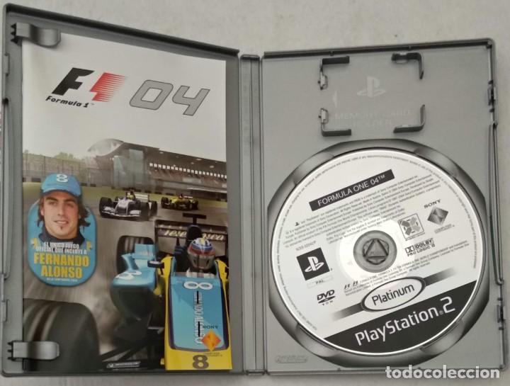 Videojuegos y Consolas: FORMULA ONE 04 - 2004 FERNANDO ALONSO RENAULT - PS2 - PLAYSTATION2 - VER FOTOS - Foto 2 - 190532761
