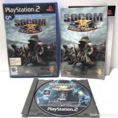 Videojuegos y Consolas: SOCOM: U.S. NAVY SEALS PLAYSTATION 2 PS2. Lote 190587481