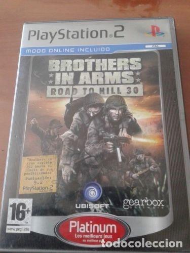 JUEGO DE PLAYSTATION 2 'BROTHERS IN ARMS ROAD TO HILL 30' (Juguetes - Videojuegos y Consolas - Sony - PS2)